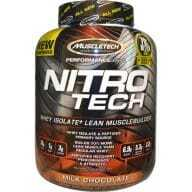 NitroTech Whey Isolate Muscle Builder