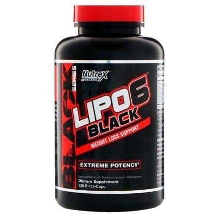 Nutrex Lipo 6 Black | Изгаряне на мазнини и отслабване